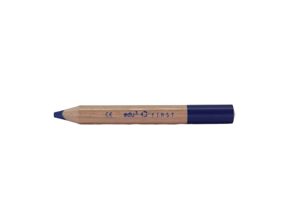 edufirst colored pencils round blue