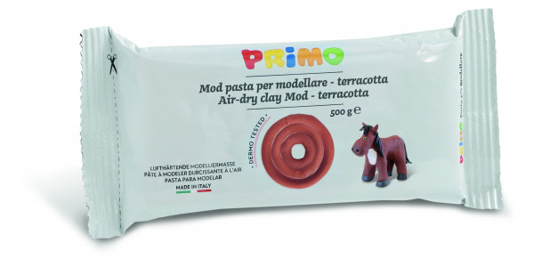 PRIMO modeling clay 500g terracotta