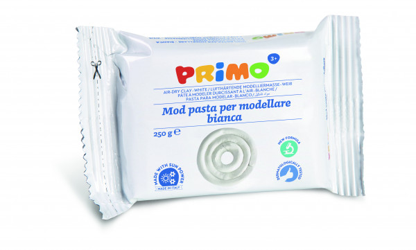 PRIMO modeling clay 250g white