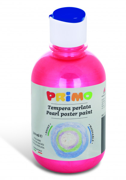 PRIMO pearl poster paint 300ml red