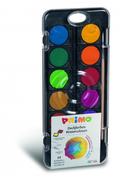 PRIMO water paint box 12 colors
